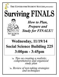 November 19th @ 3pm Social Sciences Building Room 225